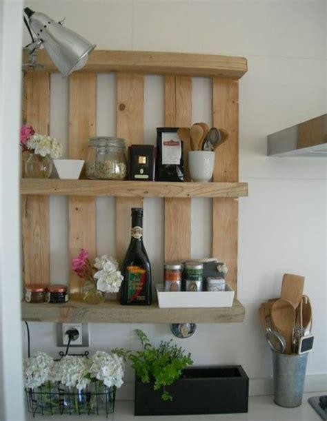 idee etagere cuisine palettes en bois id 233 es de bricolage de meubles