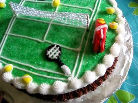 tennis themed cake decorations tennis theme cake decoration