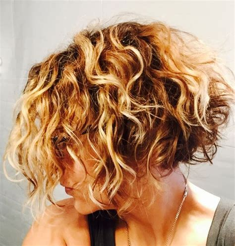 angled bob for curly hair pictures of curly inverted bob inverted bob hairstyles