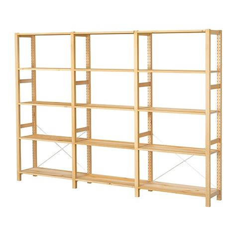 wood shelves ikea ivar 3 sections shelves ikea