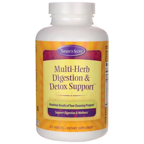 Herbs To Detox Brain by Nature S Secret Multi Herb Digestion Detox Support 275