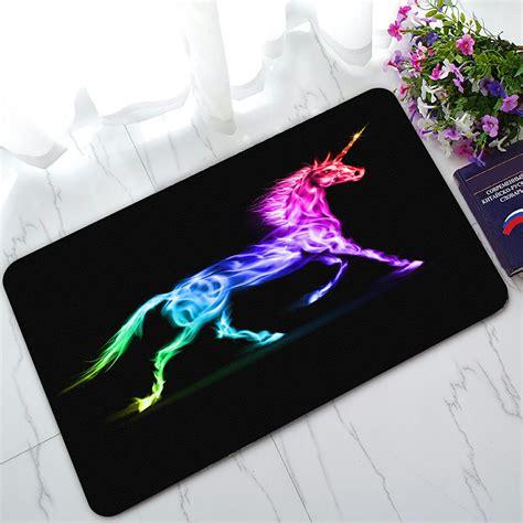 colorful doormat phfzk animal doormat unicorn colorful doormat