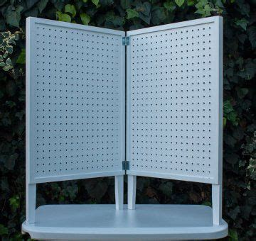 pegboard table top display pacific woodworking supplies