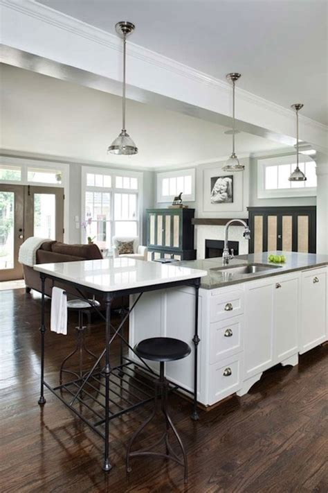 Marble Top Kitchen Island Design Ideas