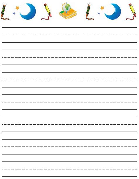 writing paper printable writing paper printable for kiddo shelter