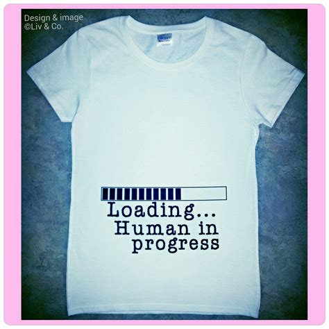 Big Size T Shirt Threr Secondkaos Three Second pregnancy reveal shirts maternity tops