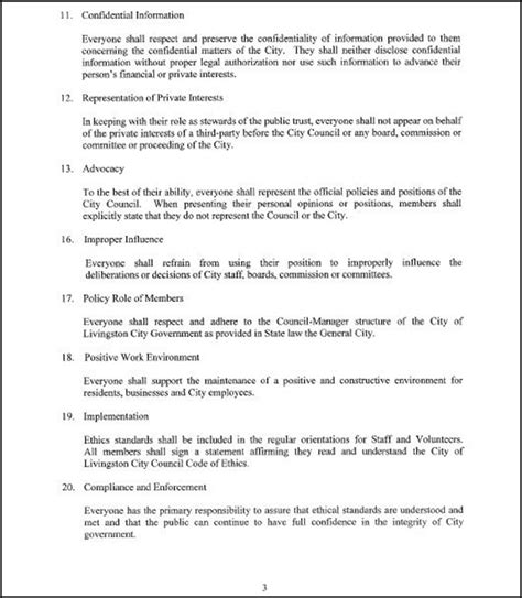 personal code of ethics template personal code of conduct template 28 images personal