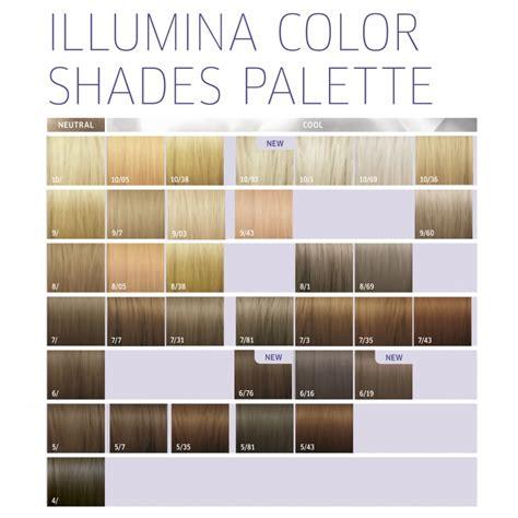 illumina color wella professionals illumina color 7 81 duda batista