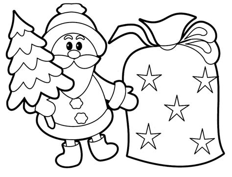 Coloring Pages Christmas Coloring Pages For Kids Pictures Printable Coloring Pages For