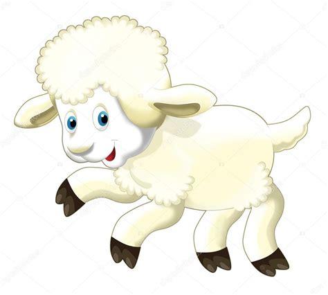 imagenes animadas de ovejas dibujos animados divertidas ovejas saltando y viendo