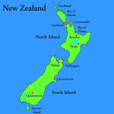 map new zealand rod car tattoos nz map images