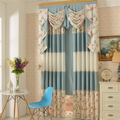 country curtain fabric floral patternpoly cotton fabric country curtain