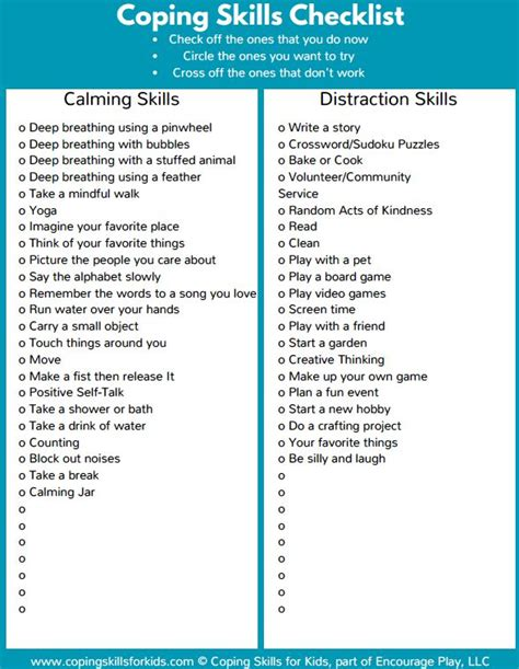 the ocd workbook for skills to help children all worksheets 187 anxiety worksheets for printable