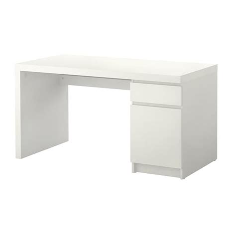 malm desk white ikea