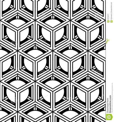 3d style black and white black and white illusive abstract geometric seamless 3d