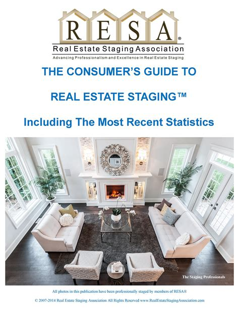 the consumer s guide to real estate staging element one