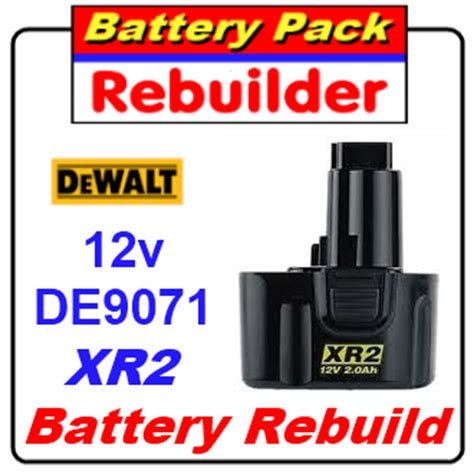 Elz Looking For Rebuild A Dewalt Battery