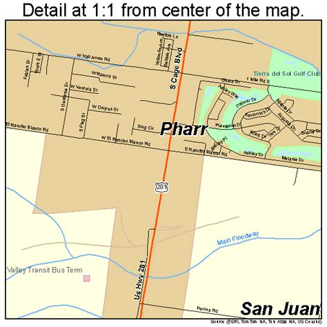 pharr texas map pharr texas map 4857200