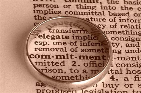 Commit To Commitment by Marriage Commitment Quotes Quotesgram