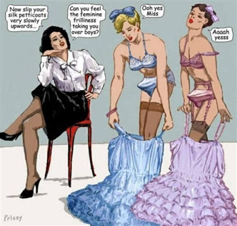 sissy petticoated husbands i like forced feminization sissy pink and sissy blue giggles men want to be