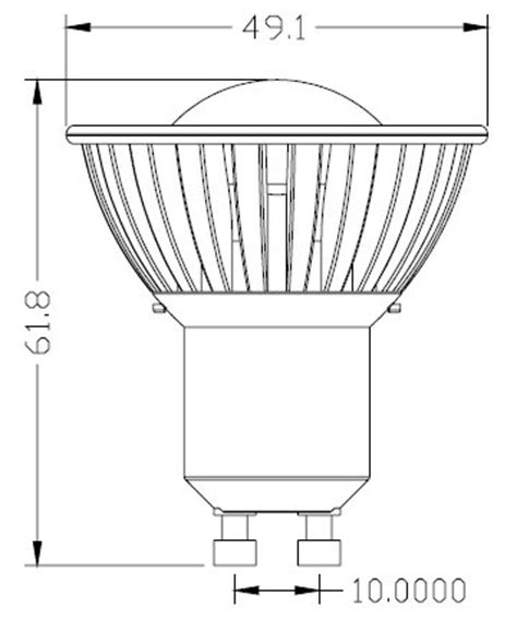 lade a led equivalenti a 100w gu10 faretto 220v con led sharp da 4w equivalente a 35w
