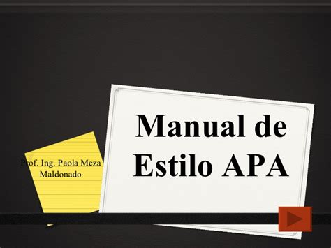 manual de estilo balamoda manual de estilo apa