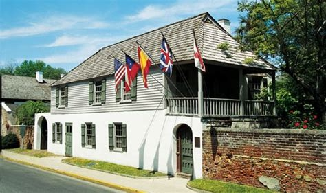 oldest house in america oldest european house in america saint augustine florida visions of travel