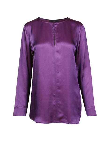 Welly Blouse drykorn bluse quot velly quot lila 34