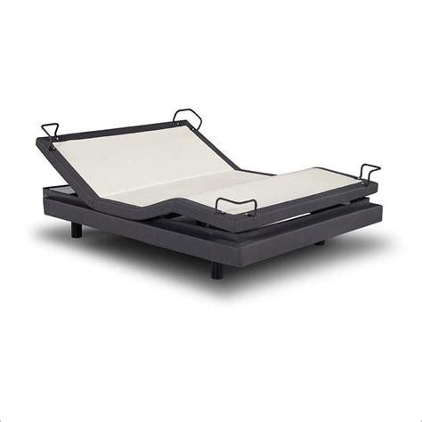 split king reverie 7s adjustable bed w yr choice of luxury cool gel mattress ebay