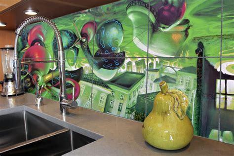 Back Splash Designs by Custom Printed Tiles Decorative Tile Murals In Australia