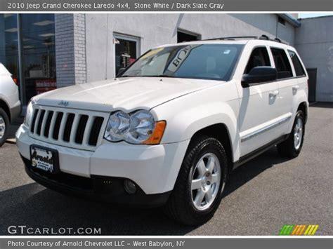 Jeep Laredo 2010 White 2010 Jeep Grand Laredo 4x4