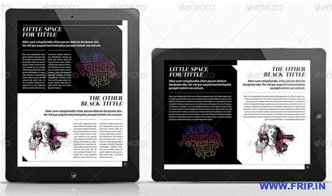 digital magazine template free best 40 digital magazine templates for 2013 frip in