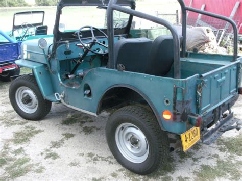 Jeep Cj3b For Sale Willys Cj3b Jeep 1957 Green For Sale Xfgiven Vin