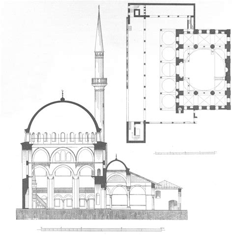 blue mosque floor plan file rustem pasha mosque gurlitt 1912 jpg wikimedia commons