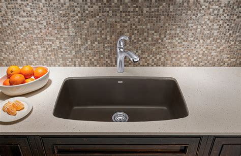 Kitchen Faucet With Filter Blanco Valea 174 Super Single Bowl Blanco