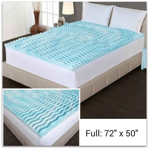 egg crates for bed mattress topper memory foam full size milliard 2 inch egg