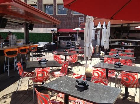 Rooftop Patio Minneapolis by Hennepin Av From The Crave Rooftop Patio Picture Of