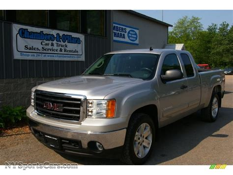 Sle Sales by 2008 Gmc 1500 Sle Extended Cab 4x4 In Silver Birch