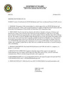 best photos of army letter of justification format