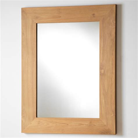 Oak Bathroom Mirror Teak And Oak Bathroom Furniture Mirrors