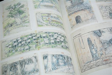 studio ghibli layout designs exhibition art book studio ghibli layout designs exhibition part ii halcyon