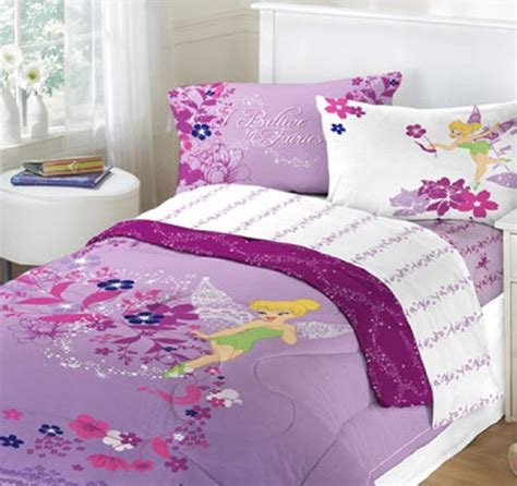 tinkerbell bedroom set tinkerbell purple bed set 111546 infobarrel images