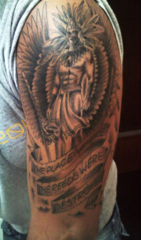 tattoo arm warrior aztec tattoos and designs page 6