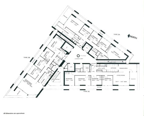 plan drawings lauderdale tower flat plans barbican living