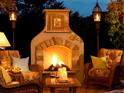 outdoor fireplaces outdoor fireplace design ideas hgtv