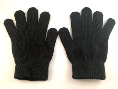 the with black gloves black gloves glofx