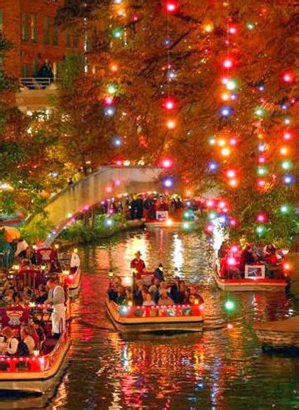 san antonio riverwalk christmas lights boat holiday lights on the river walk
