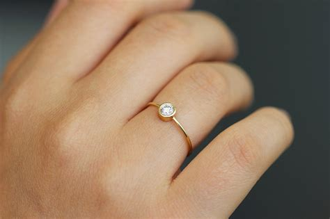 Simple One Engagement Rings by Simple Engagement Ring 0 2 Carat Artemer