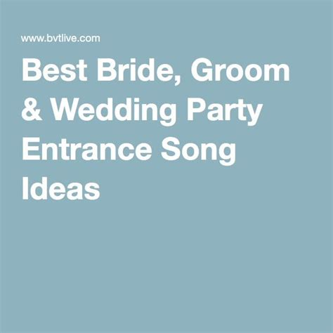 Wedding Entrance Song List by 25 Entrance Songs Ideas On Grand