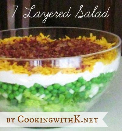 Nomor 1 Vegetable Benih Lettuce Swiss Globe Iceberg Import Bibit 7 layered salad s recipe cooking the o jays and southern kitchens